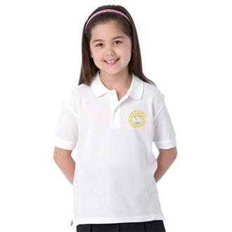 Stockbridge white polo shirt