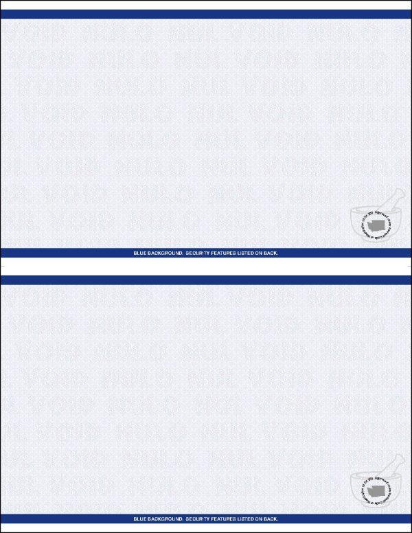 Washington RX 2up laser sheets Blue