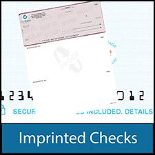Imprinted Checks - Imprinted Business Checks