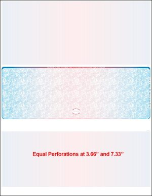 middle prismatic equal perforation blank laser check
