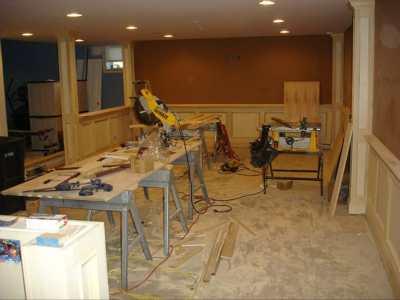 Basement Finish Progress