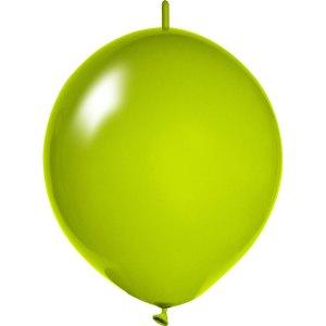 hellgrüne Girlanden Luftballons bedrucken