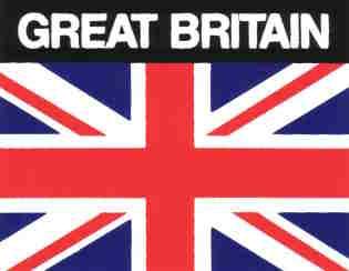 Aufkleber Großbritannien, Länderaufkleber, Nationalflagge, Autoaufkleber