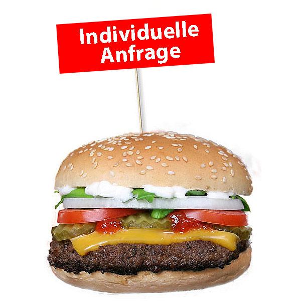 BurgerfähnchenSonderwünschespezielle Formen— Anfrage stellen —
