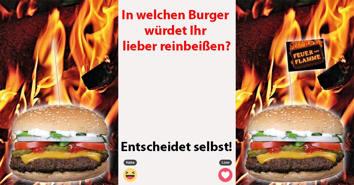 Burgerpicker mit oder ohne Fähnchen? Ihr habt die Wahl!