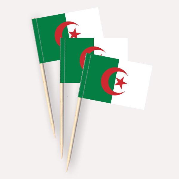 Käsepicker Algerien | Minifahnen Zahnstocherfähnchen