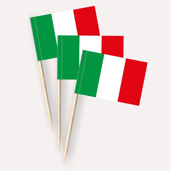 Italien Käsepicker Minifähnchen Zahnstocherfähnchen