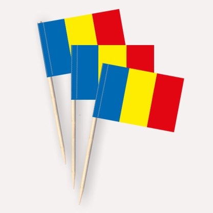 Rumänien Käsepicker Minifähnchen Zahnstocherfähnchen