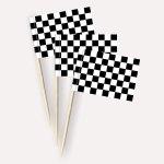 Startflagge/Zielflagge Käsepicker Minifähnchen Zahnstocherfähnchen