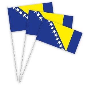 Bosnien Papierfahnen kaufen