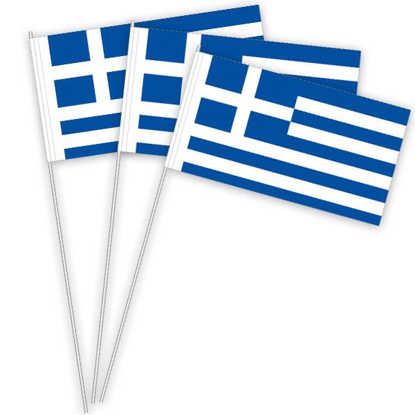 Griechenland Papierfahnen kaufen