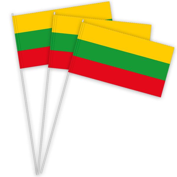 Litauen Papierfahnen kaufen