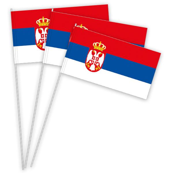 Serbien Papierfahnen kaufen