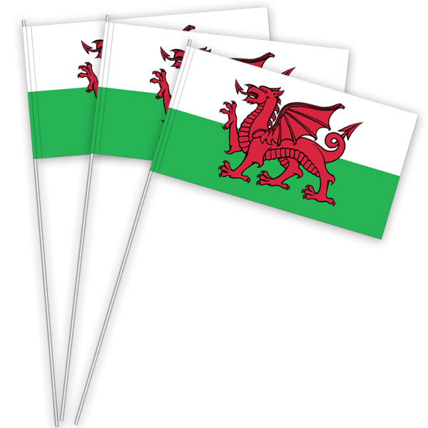 Wales Papierfahnen kaufen