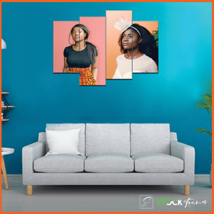 Canvas Print Split Panels (4 in 1) – Image Mix
