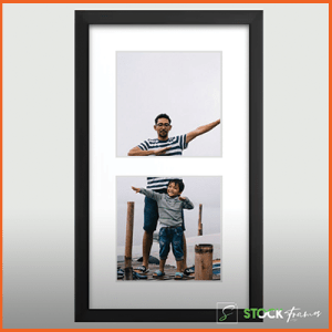 Customized Collage Picture Frames (Two Images)