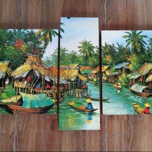 Canvas Print Split Panels (3 in 1) – Triptych