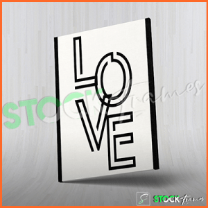 Canvas Prints Single Panels (My Love) – 18×24 etc.