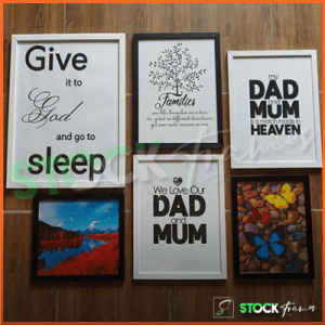 Modern Picture Frames in Nigeria (Singles and Gallery Wall Sets)