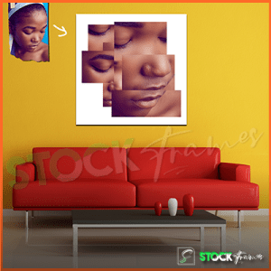 THE FACIAL PUZZLE Picture Editing in Nigeria – (Squares)