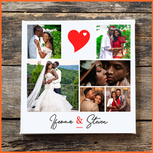 COLLAGE PICTURE FRAMES in Nigeria – For Couples