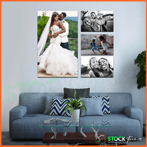 Canvas Gallery Wall Frames In Nigeria – 4 Sets, 4 Images