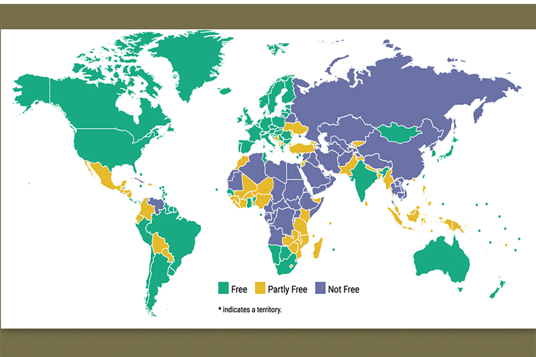 Freedom house turkey posts second worst decline in freedoms in a decade