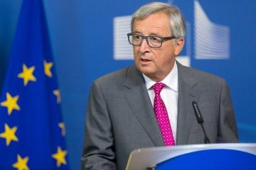 EU's Juncker says Turkey must release two Greek soldiers