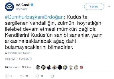 Turkey's Erdoğan issues a veiled threat of killing each and
