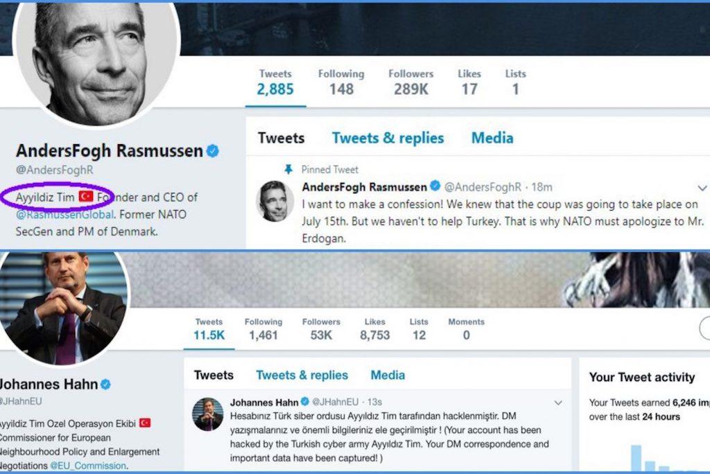 Pro-Erdoğan group hacks Twitter accounts of EU Commissioner