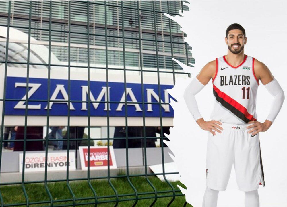 NBA star Kanter dedicates Trail Blazers' latest victory to seized Zaman daily