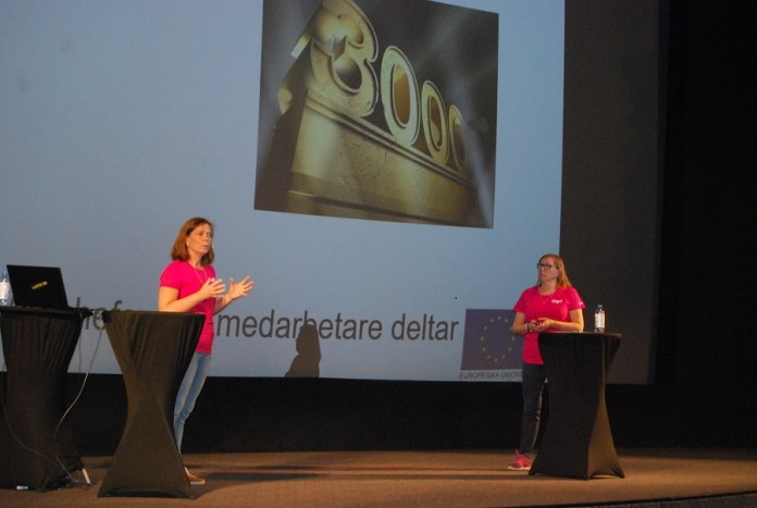 Cecilia Brauer och Helen Starkman, projekt DigIT