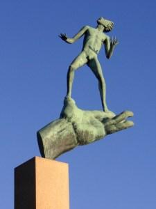 скульптура в миллесгорден парк карла миллеса в стокгольме