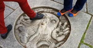 бог ветра у Ратуши в Стокгольме