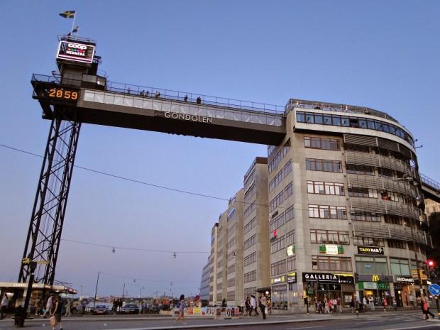 Гондолен лучший ресторан в Стокгольме