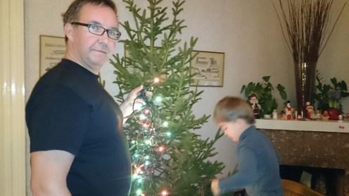 украшение елки в швеции