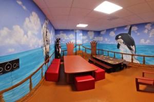 пиратская комната в игровом парке_1