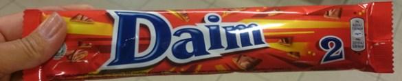 шоколад Daim недорогой сувенир из Швеции