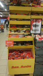 сувенир из Швеции шоколад Daim