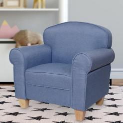 Eva Kids Chair Blue