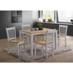 Bolton Grey & Oak Dining Set