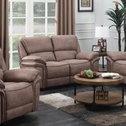 Preston Sand 2 Seater Recliner Sofa