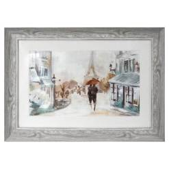 A Walk in Paris Framed Picture