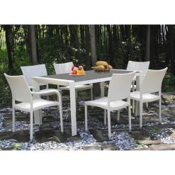 Grey Imperial Dining Set
