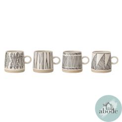 Eliana Set of 4 Mugs