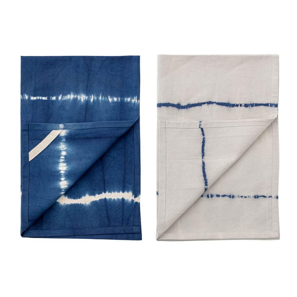 Blue Cotton Tea Towel