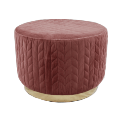 18403 Pink Footstool