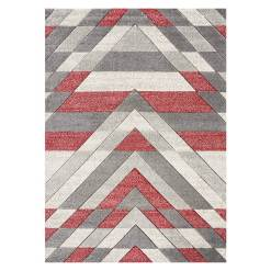 Asher Grey Red Rug