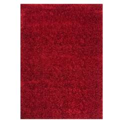 Ottova Red Shaggy Rug