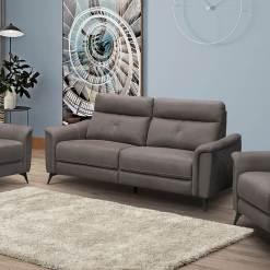 Archie Grey 3 Seater Sofa